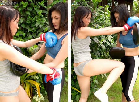 Nude Thai Boxing